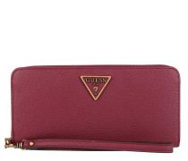Portemonnaie Destiny Large Zip Around Wallet Merlot