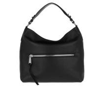 Hobo Bag Linna Small Black Nickel