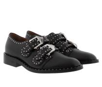 Monk Strap Elegant Derby Noir Schuhe