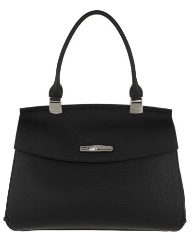 Satchel Bag Madeleine Shoulder Bag Leather Black schwarz