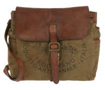 Shoulder Bag Textil/Cow V.Militare T/Cognac+St.Nera braun