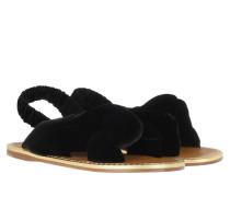 Sandalen Sandals Leather Black Gold