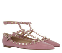 Rockstud Ballerina Antique Rose Ballerinas