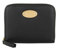 Portemonnaie Plaque Small Zip Around Wallet