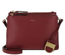 Lynn Double Zipper Umhängetasche Bag Scarlet