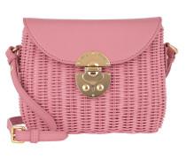 Umhängetasche Shoulder Bag Leather Rosa