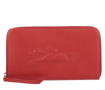 Kleinleder - Le Pliage Zip Around Wallet Large Vermillon