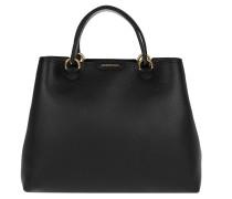 Tasche - Media Cervino Leather Tote Black