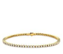 Armband 14KT 2ct Diamond Tennis Bracelet