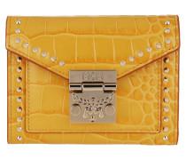 Portemonnaie Croco Wallet Golden Mango