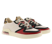 Sneakers Citysole Court Sneaker Leather Chalk/Electric Red