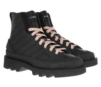 Sneakers Chain Clapham Mid Black Pink