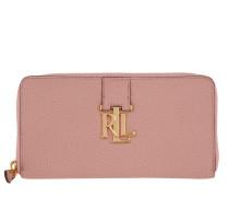 Kleinleder - Carrington Leather Zip Wallet Rose Smoke - in rosa - Kleinleder für Damen