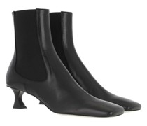 Boots & Stiefeletten Heeled Bootie Leather