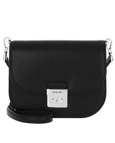 Umhängetasche Sloan Editor Small Saddle Crossbody Bag Black schwarz