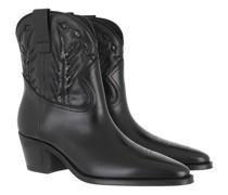 Boots & Stiefeletten Western Ankle Calfskin