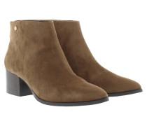 Thenia II Ankle Boot Suede Brown Schuhe braun