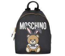 Playboy Bear Backpack Black Rucksack