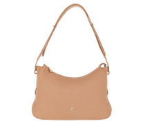 Hobo Bag Mini Milano Vacchetta Brown