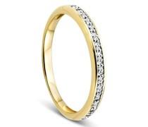 Ring 14KT 0,054ct Diamond
