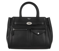 Tote Small Bayswater Satchel Bag Leather Black