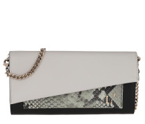 Umhängetasche Two Coloured Continental Wallet Off White/Black