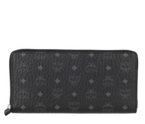 Portemonnaie Large Original Visetos Zip Around Wallet Black