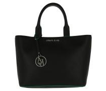 Shopping Bag Short Handle Catfish Dark Green Umhängetasche