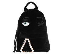 Backpack Velvet Nero/Black Rucksack