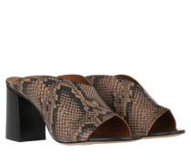 Sandalen Licola Printed Snake Sandals Brown