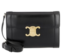 Umhängetasche Triomphe Crossbody Bag Leather Black