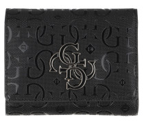 Portemonnaie Chic Shine Wallet Small Trifold Black