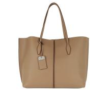 Joy Shopping Bag Grande Tabacco / Testa