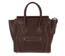 Tasche - Micro Luggage Tote Burgundy