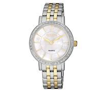 Uhr Elegance Wristwatch Bicolor