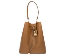 Debby Drawstring Bucket Bag Field Brown/Monarch Orange Beuteltasche