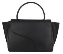 Satchel Bag Medium Tote Black