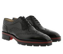 Charletta Flat Patent Black Schuhe