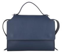 Tasche - Clover Knitted Flap Bag Medium Blue