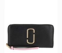 Portemonnaie Snapshot Standard Continental Wallet Leather New Black Multi