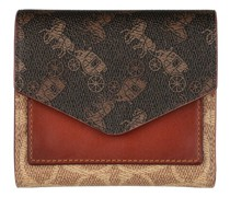 Portemonnaie Signature Carriage Small Wallet