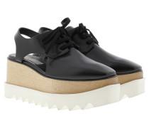 Sneakers - Elyse Cut Out Plateau Sandale Black