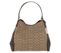 Signature Edie Shoulder Bag Khaki/Brown Tote braun