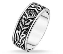 Ringe Ring Black Tiger Pattern