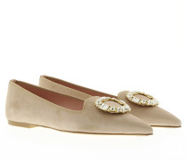Loafers & Slippers - Angelis Brooch Tan Loafer