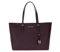 Jet Set Travel MD TZ Mult Funt Tote Damson