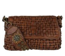 Bandoliera Intrecciata Spalla Borchie Shoulder Bag