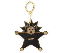 Animal Charm Star Lion Keychain