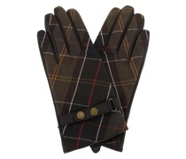 Handschuhe Heath Tartan Gloves Dark Brown