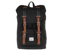 Rucksack Little America Mid Volume Backpack Black Tan